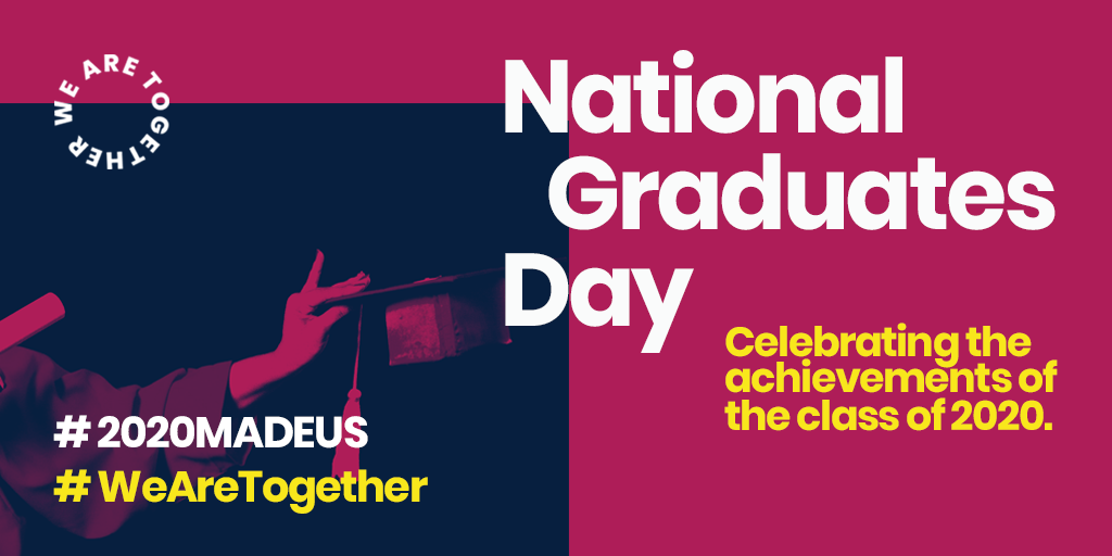 Marc Lintern, AGCAS President, shares message for National Graduates Day