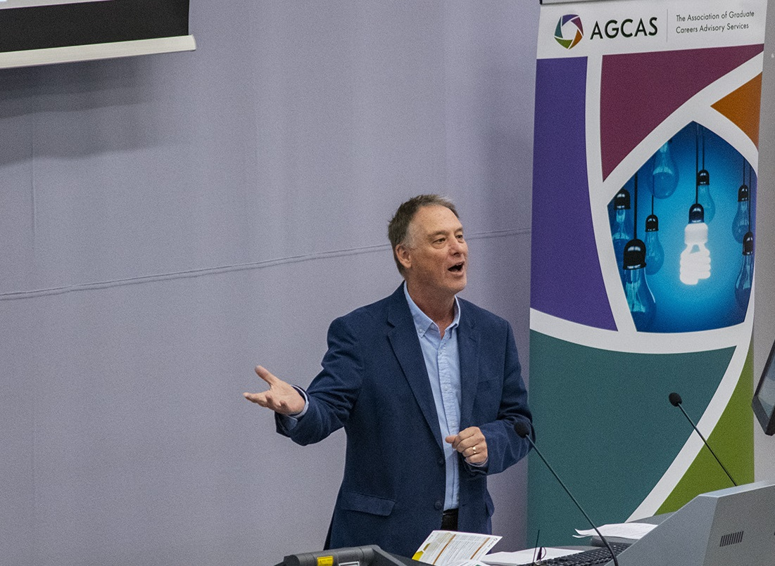 Thanks, farewell and best wishes from Dr Bob Gilworth, AGCAS President