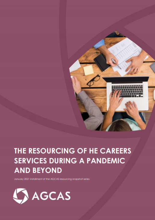 The resourcing of HE careers services during a pandemic and beyond - January 2021